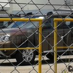 Renault Duster facelift front quarter Brazil spied