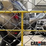 Renault Duster facelift rear Brazil spied