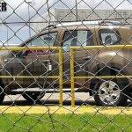 Renault Duster facelift side Brazil spied