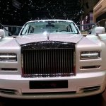 Rolls Royce Serenity front at the 2015 Geneva Motor Show