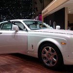 Rolls Royce Serenity front three quarters left at the 2015 Geneva Motor Show