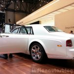 Rolls Royce Serenity rear three quarter view at the 2015 Geneva Motor Show