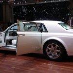 Rolls Royce Serenity rear three quarters at the 2015 Geneva Motor Show