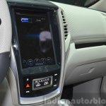 Ssangyong Tivoli EVR Concept center console at the 2015 Geneva Motor Show