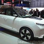 Ssangyong Tivoli EVR Concept front three quarters at the 2015 Geneva Motor Show