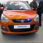 Suzuki Alto K10 front view at Algeria Motor Show