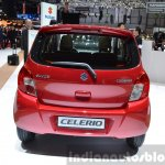 Suzuki Celerio rear at 2015 Geneva Motor Show