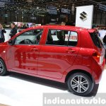 Suzuki Celerio rear quarter at 2015 Geneva Motor Show