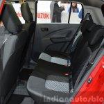 Suzuki Celerio rear seat at 2015 Geneva Motor Show