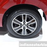 Suzuki Celerio wheel at 2015 Geneva Motor Show