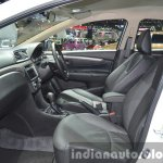 Suzuki Ciaz Aero front seats at the 2015 Bangkok Motor Show