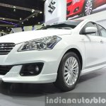 Suzuki Ciaz Aero front three quarter at the 2015 Bangkok Motor Show