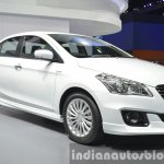Suzuki Ciaz Aero front three quarter left at the 2015 Bangkok Motor Show