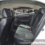 Suzuki Ciaz Aero rear seat at the 2015 Bangkok Motor Show