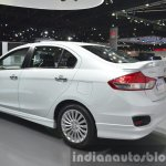 Suzuki Ciaz Aero rear three quarter at the 2015 Bangkok Motor Show
