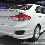 Suzuki Ciaz Aero rear three quarter right at the 2015 Bangkok Motor Show
