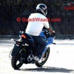 Suzuki Gixxer SLK rear quarter spied