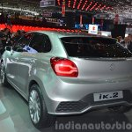 Suzuki iK-2 concept rear left quarter view at 2015 Geneva Motor Show