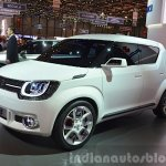 Suzuki iM-4 concept front three quarter view at 2015 Geneva Motor Show