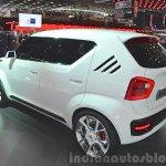 Suzuki iM-4 concept rear three quarter view at 2015 Geneva Motor Show