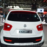 Suzuki iM-4 concept rear view at 2015 Geneva Motor Show