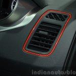 Tata Bolt Sport air vent at the 2015 Geneva Motor Show