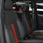 Tata Bolt Sport front seats at the 2015 Geneva Motor Show