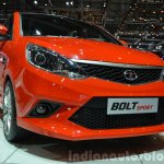 Tata Bolt Sport front three quarters left at the 2015 Geneva Motor Show