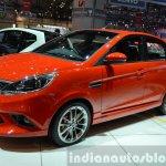 Tata Bolt Sport front three quarters right at the 2015 Geneva Motor Show