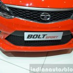 Tata Bolt Sport grille and bumper at the 2015 Geneva Motor Show