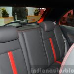 Tata Bolt Sport rear seat at the 2015 Geneva Motor Show