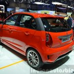 Tata Bolt Sport rear three quarters at the 2015 Geneva Motor Show