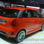 Tata Bolt Sport rear three quarters right at the 2015 Geneva Motor Show