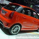 Tata Bolt Sport rear three quarters view at the 2015 Geneva Motor Show