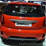 Tata Bolt Sport rear view at the 2015 Geneva Motor Show