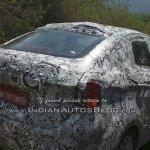 Tata Kite sedan test mule caught in Ooty