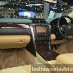 Toyota Camry Hybrid interior at the 2015 Bangkok Motor Show
