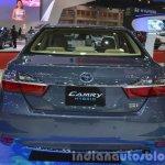 Toyota Camry Hybrid rear at the 2015 Bangkok Motor Show