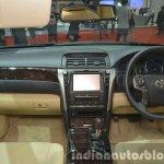 Toyota Camry facelift dashboard at the 2015 Bangkok Motor Show