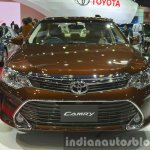 Toyota Camry facelift front at the 2015 Bangkok Motor Show