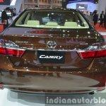 Toyota Camry facelift rear at the 2015 Bangkok Motor Show