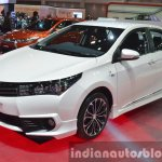 Toyota Corolla ESport Nurburgring Edition front three quarter at the 2015 Bangkok Motor Show