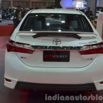 Toyota Corolla ESport Nurburgring Edition rear at the 2015 Bangkok Motor Show