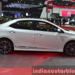 Toyota Corolla ESport Nurburgring Edition side at the 2015 Bangkok Motor Show