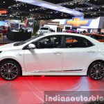Toyota Corolla ESport Nurburgring Edition side profile at the 2015 Bangkok Motor Show