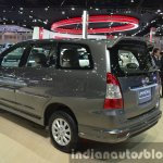 Toyota Innova rear three quarter left at the 2015 Bangkok Motor Show