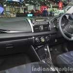 Toyota Vios dashboard at the 2015 Bangkok Motor Show