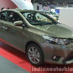 Toyota Vios front three quarters at the 2015 Bangkok Motor Show