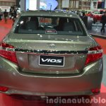 Toyota Vios rear at the 2015 Bangkok Motor Show