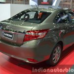 Toyota Vios rear three quarter at the 2015 Bangkok Motor Show